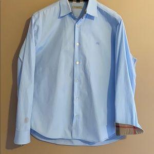 Burberry Men's light blue Shirt
